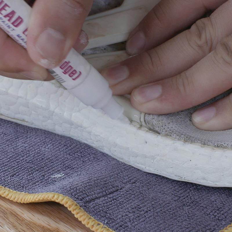 SupBro boost волшебный ремонт карандаш крышка белые туфли конец окисление покрытие водонепроницаемый безвкусный увеличение белый идти желтый карандаш
