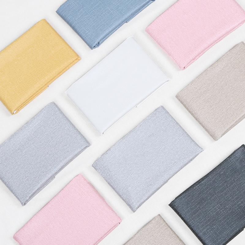 纯色北欧网红布艺桌布 防水防油防烫免洗茶几餐桌布pvc塑料长方形 - 封面