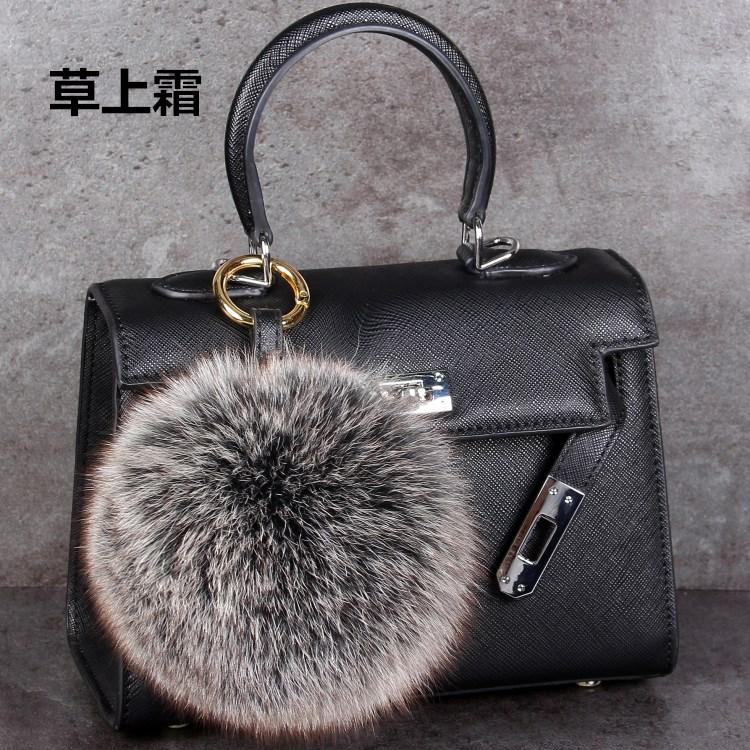 13cm импортный лисий мех сумка для гольфа сумка модель nagymaros hairball брелок hairball кулон брелок кулон плюш