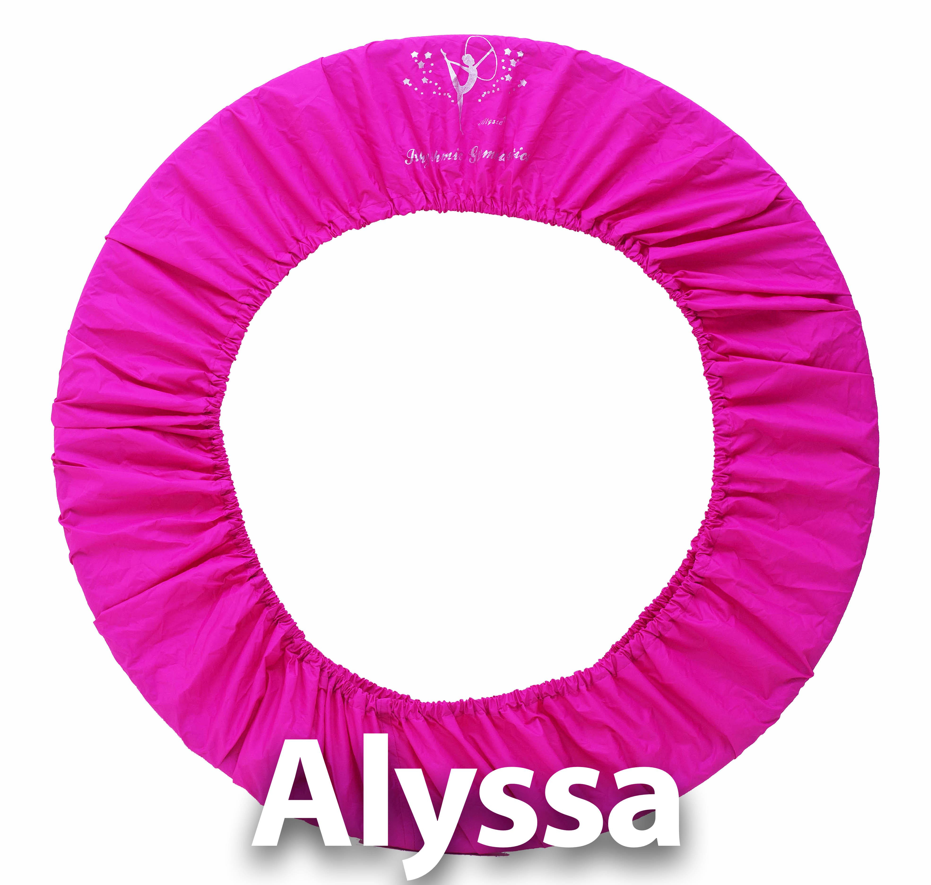 Alyssa Art Gymnastics Circle Cover - Персик розовый ( универсальный 60-90cm)