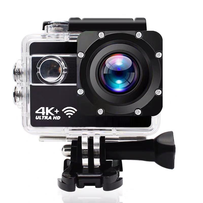 运动相机高清4K防水防抖潜水游泳专业摄像机WiFi可航拍潜水下摩托车用头盔行车记录仪骑行旅游小型随身带学生