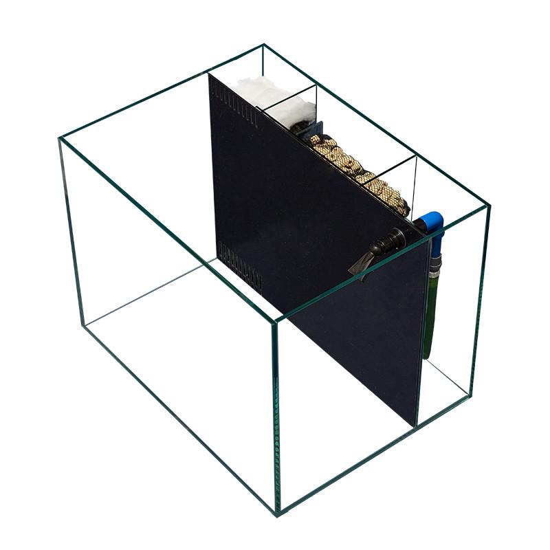 。隔离网客厅配件智能背滤侧滤外置装饰造景水缸小型流水鱼缸(用10元券)