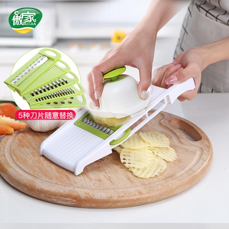 擦丝器菜擦子擦土豆丝神器家用刨丝器不锈钢胡萝卜丝蔬菜切丝器机
