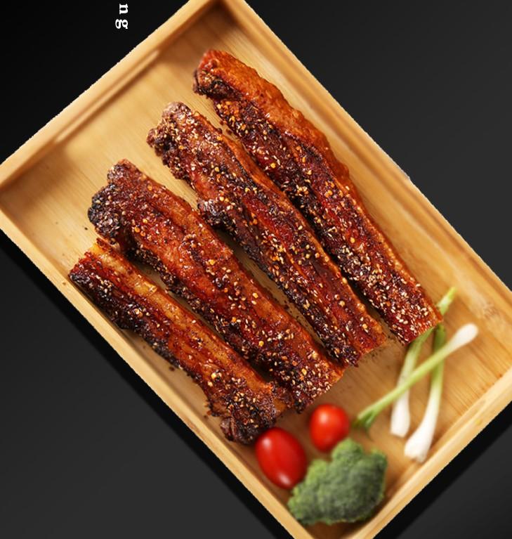 脆皮五花肉烤肉猪肉好吃熟食即食特产美食舌尖正宗地方特色小吃