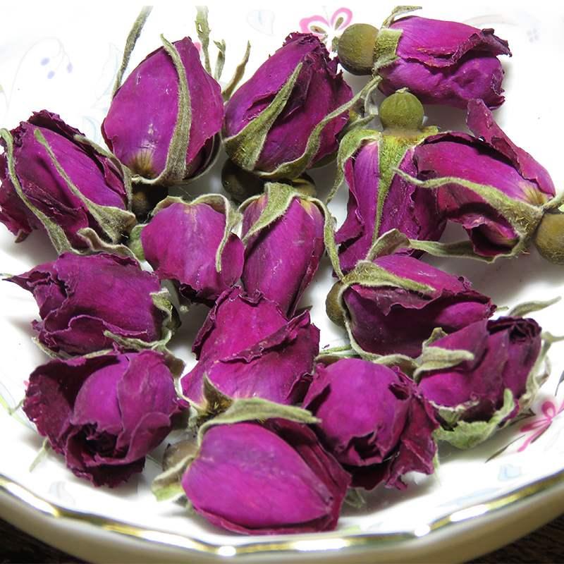玫瑰花茶干玫瑰平阴玫瑰花茶无硫花蕾散装花草茶250g,可领取3元天猫优惠券