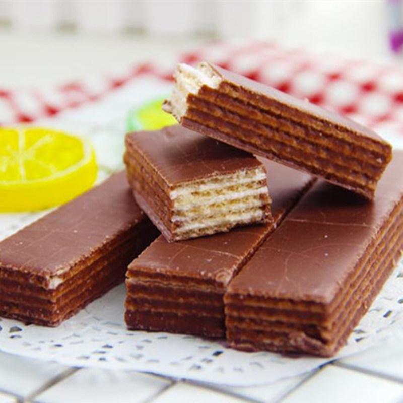 木糖醇巧克力老酸奶涂层无糖威化饼干中老年孕妇代餐零糖尿人食品,可领取2元天猫优惠券