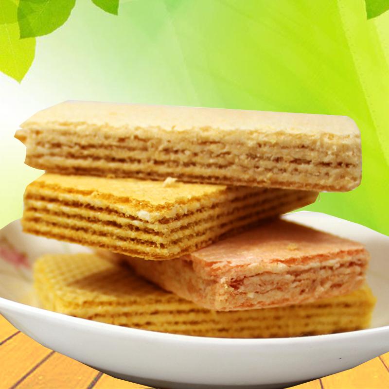 无糖精食品木糖醇威化饼干散装1000g休息零食无蔗糖零食,可领取2元天猫优惠券