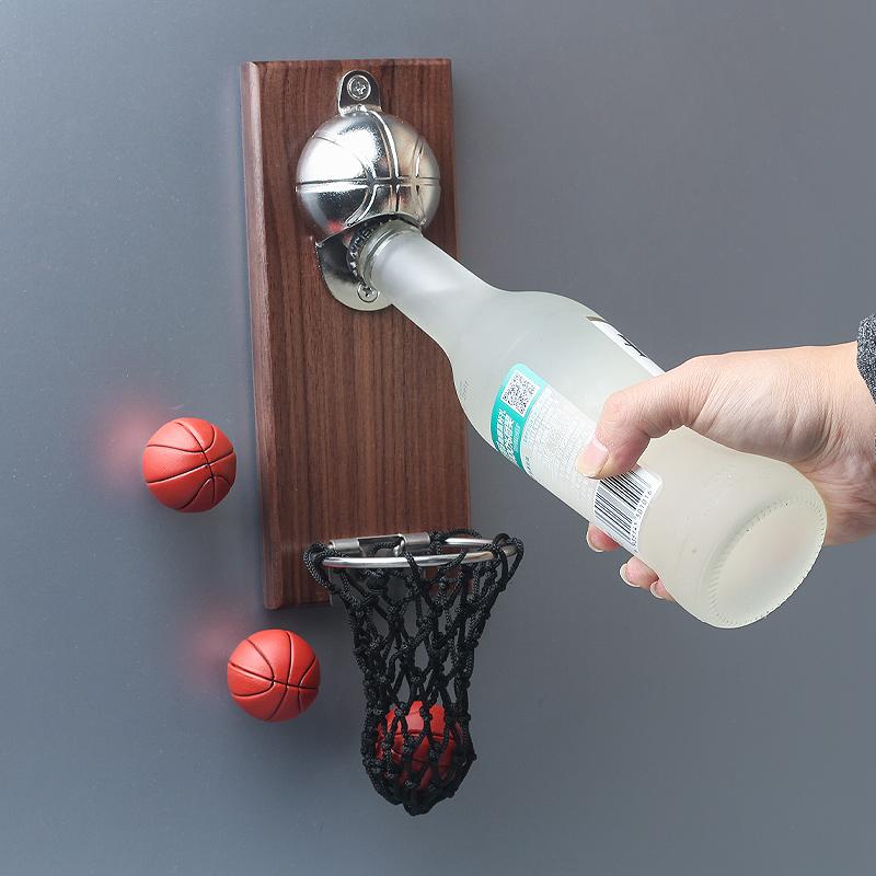 高品质冰箱贴灌篮高手起子开瓶器