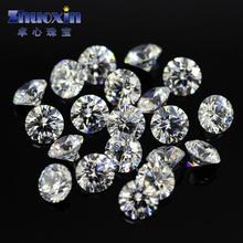 正品圆形IJ色莫桑石小碎钻厘石裸钻3.0mm美国进口八心八箭0.7