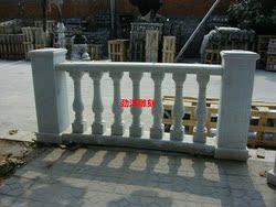 阳台扶手石头护栏栏杆石栏杆花瓶柱子别墅阳台大理石阳台柱定制