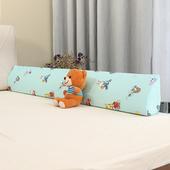 婴儿防摔床边护栏宝宝床围栏软包床上防护挡板儿童防掉床栏神器