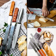 Ножи, овощечистки > Ножи для хлеба.