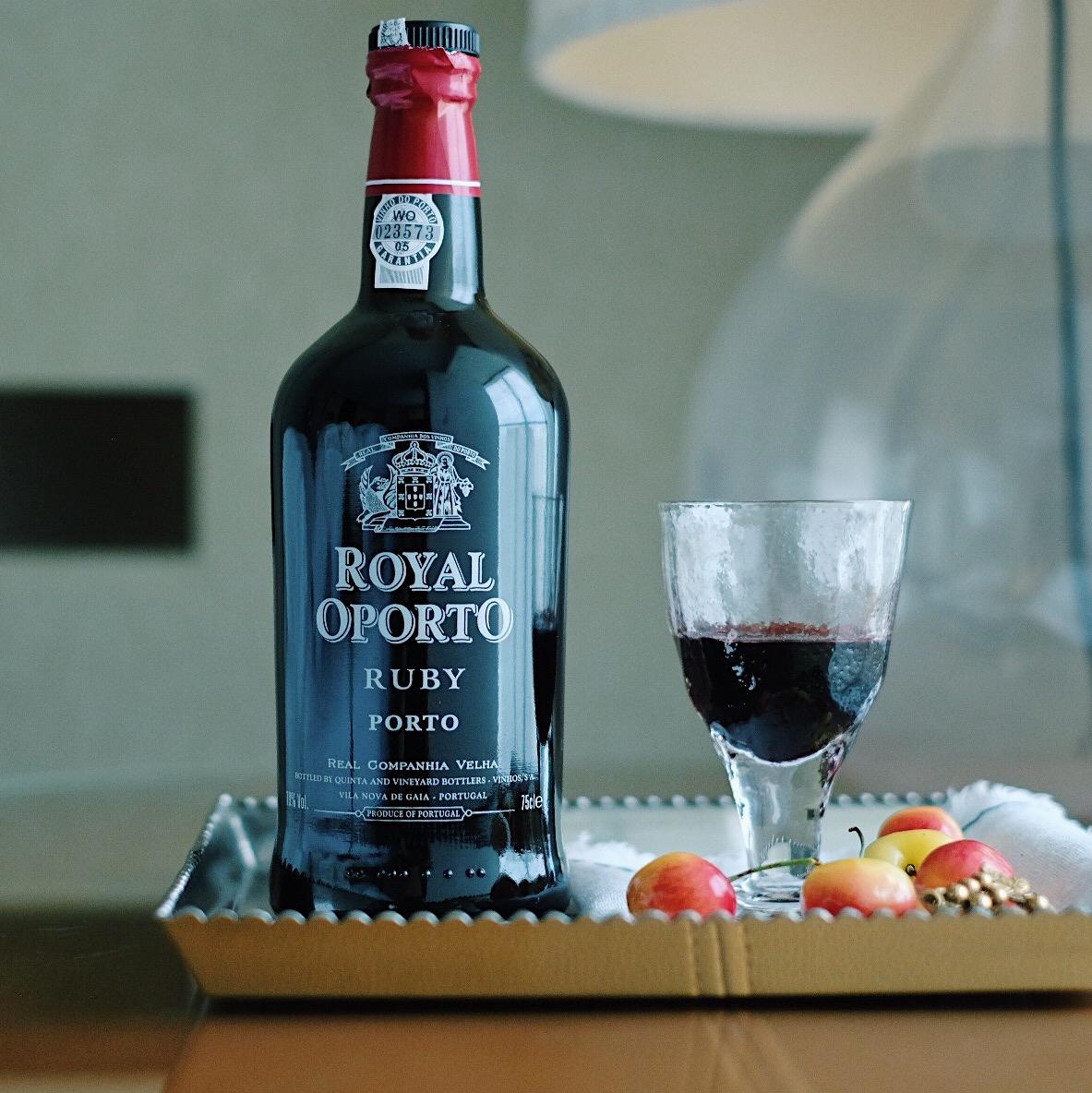 19度波特晚安酒   葡萄牙Royal oporto皇家红宝石波特酒