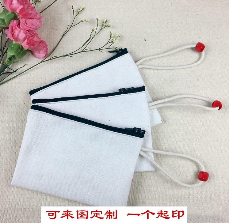Canvas Wallet to figure custom womens handbag creative change bag zipper key bag coin bag leisure storage bag