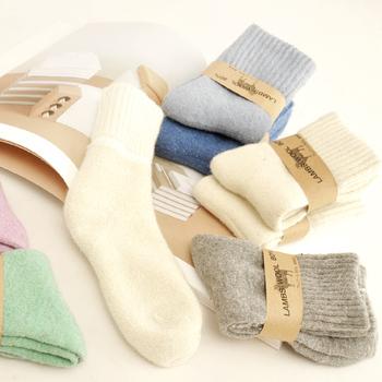 【3双装】超厚毛圈加厚中短筒羊毛袜