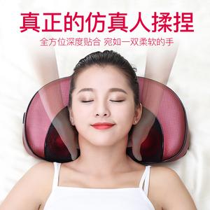 肩颈椎按摩器颈部背部颈肩电动枕头