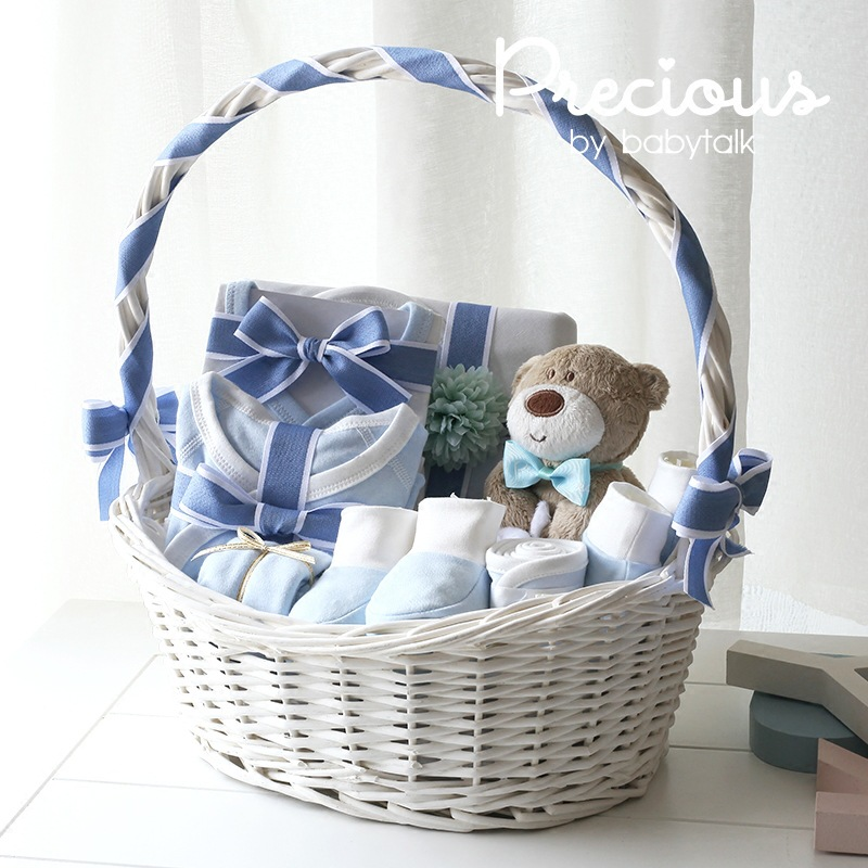 Newborn baby clothes suit gift box comfortable spring and summer cotton products gift bag for newborn baby