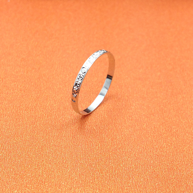 S925 Silver Ring star small pair ring Japanese and Korean silver tail ring for lovers