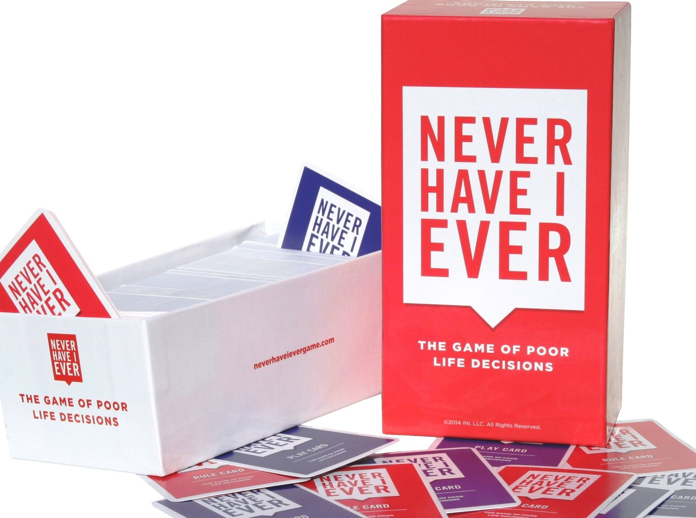 Never Have I Ever热销我没有玩过的卡牌现货 欧美桌游