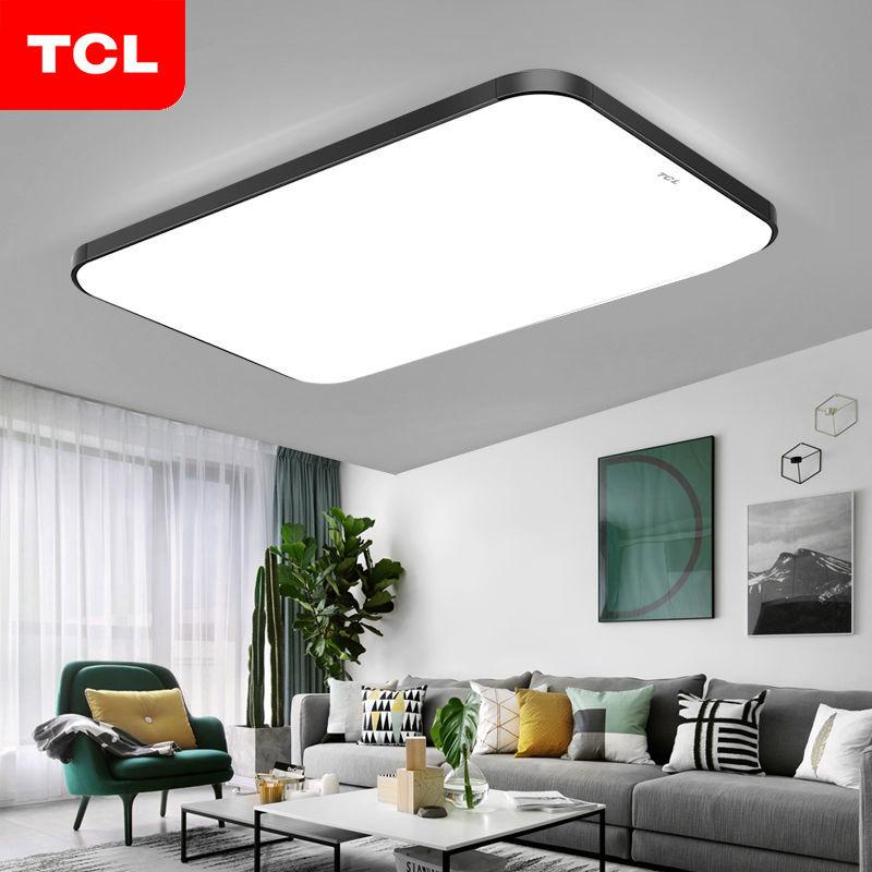 TCL照明LED吸顶灯长方形大气客厅灯具现代简约卧室灯阳台餐厅灯