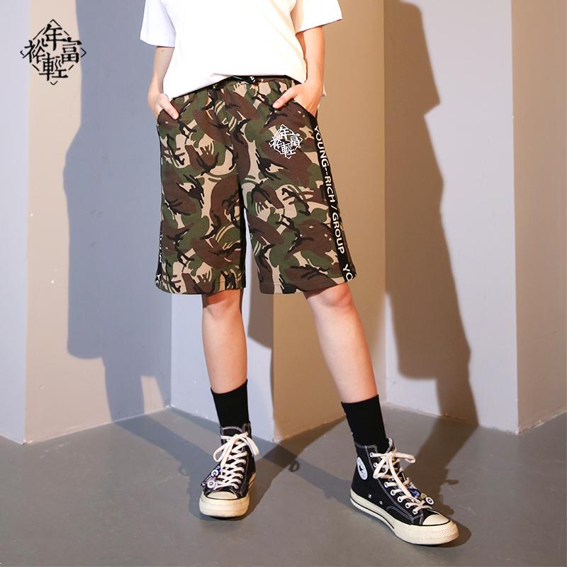 Ztzt magicool chaoti desert camouflage shorts printed pocket work wear Capris casual shorts