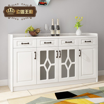 Modern simple dining cabinets locker wine Cabinets Multi-functional Large capacity storage restaurant tea cabinets paint-free suction film