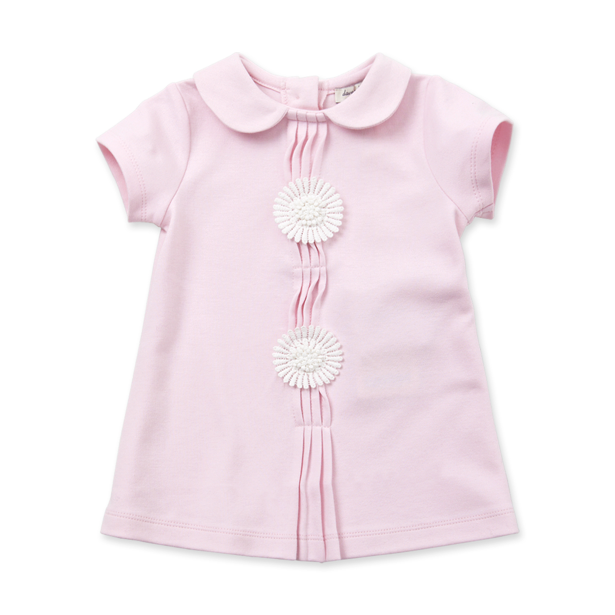 davebella戴維貝拉 女童連衣裙 女寶寶 短袖裙子 公主裙XS