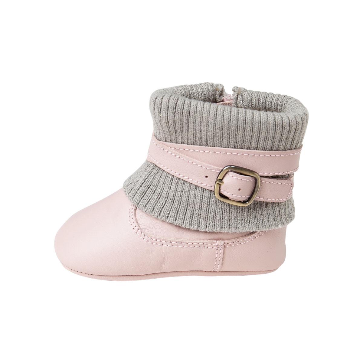 davebella戴維貝拉女童 皮靴 女寶寶保暖鞋子S5