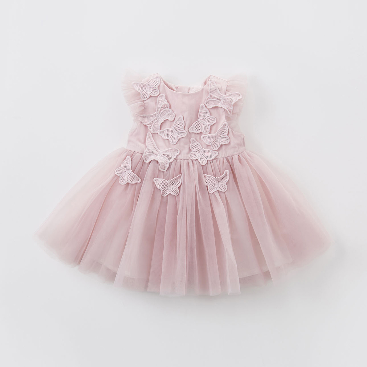 Davebella new summer girls' dress children's mesh dress princess dress children's dress
