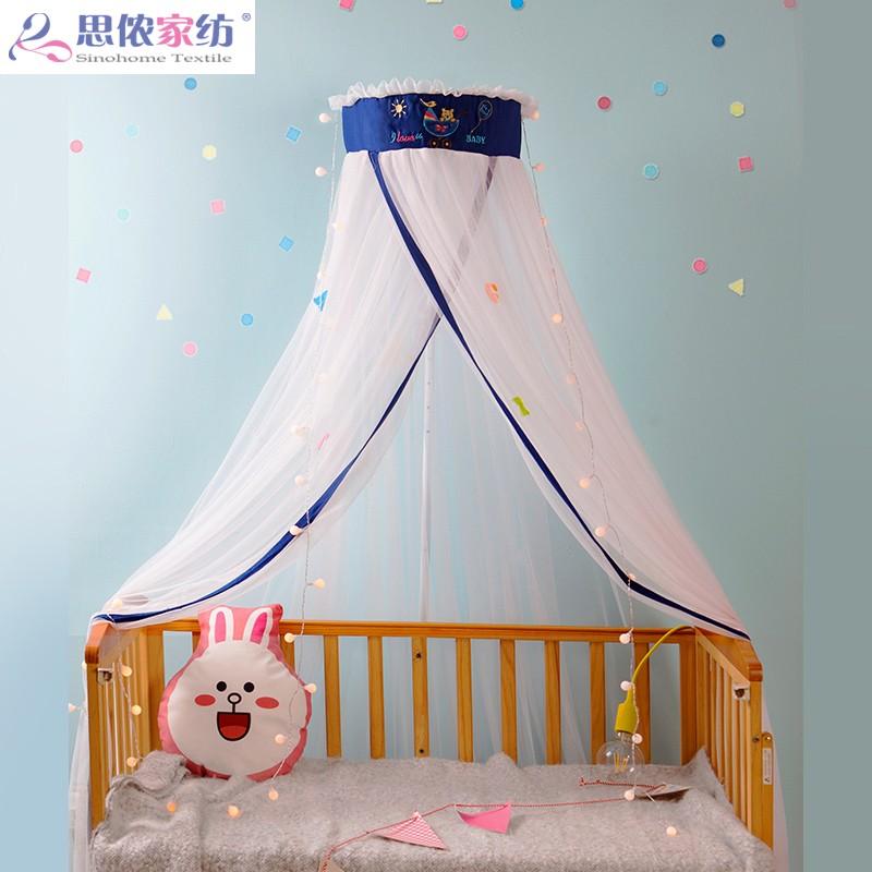 Ребенок сетка от комаров детский сад маленькая кровать ребенок кровать колыбель кровать слово скобка открыто стиль сетка от комаров крышка общий