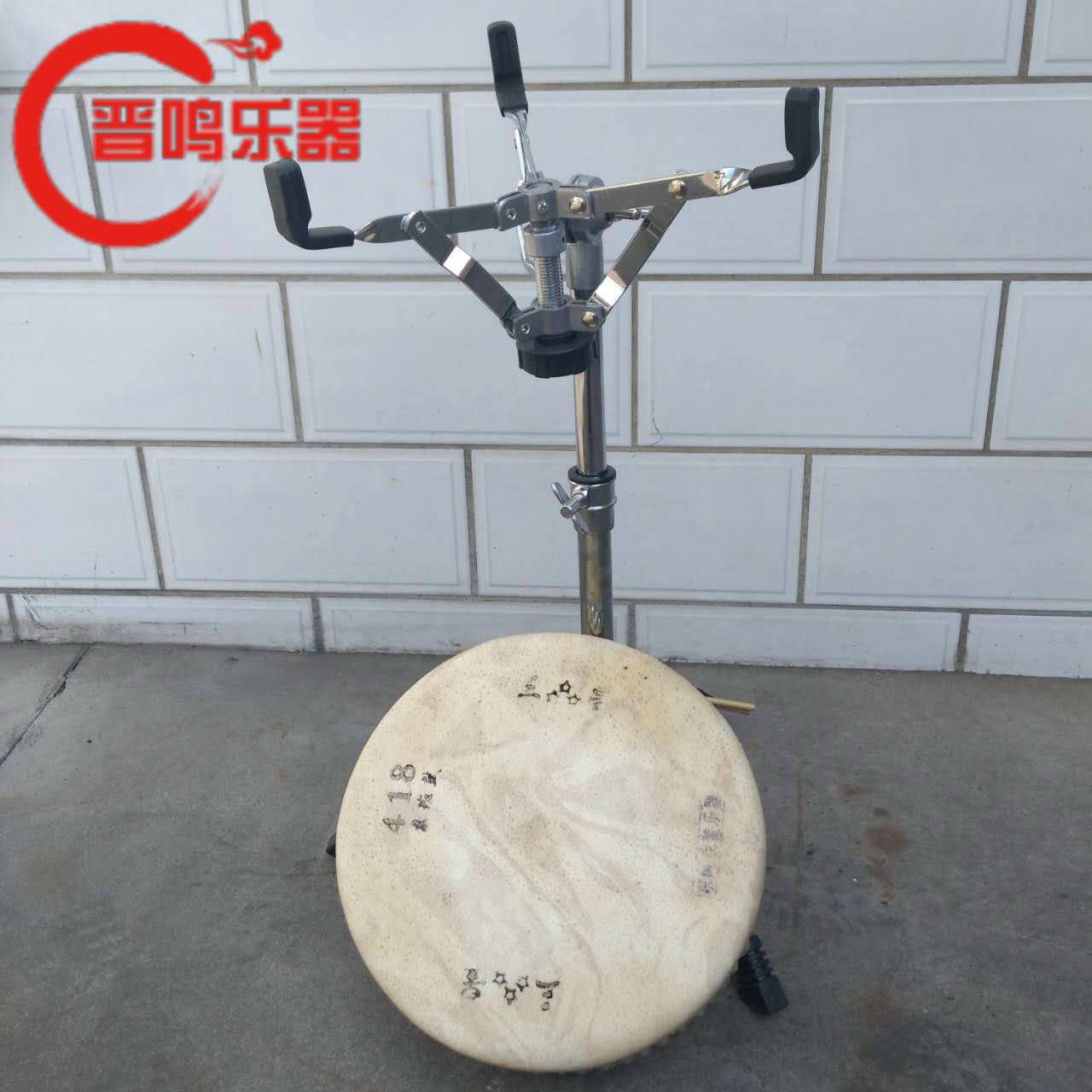 Пекин класс барабан полка высококачественный доска барабан рамка нержавеющая сталь треугольник доска барабан стоять монтаж складные тип доска барабан полка