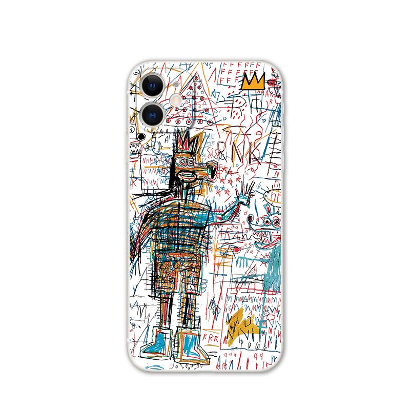 欧美艺术涂鸦iPhone11手机壳苹果12硅胶8plus软壳xsmax创意xr潮牌
