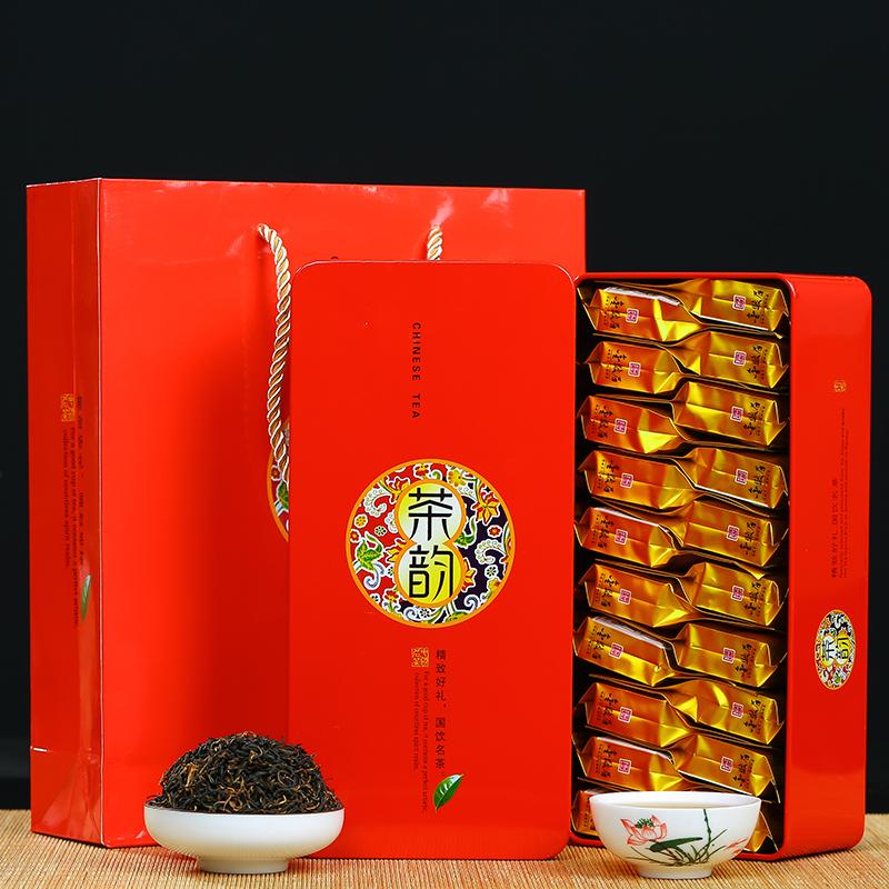 火炼新茶特级金骏眉茶叶红茶金俊眉桐木关红茶秋茶蜜香型红茶100g