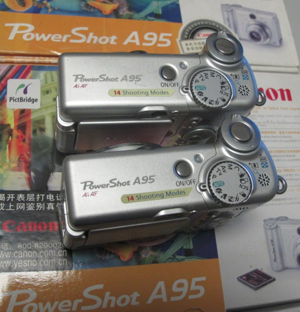 Canon / Canon PowerShot A95 computer on line control: silver color new spot price
