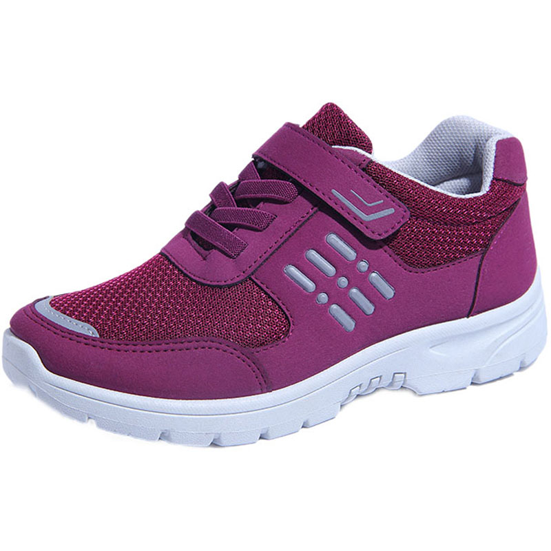 秋季新款大码女鞋中年妇女运动鞋