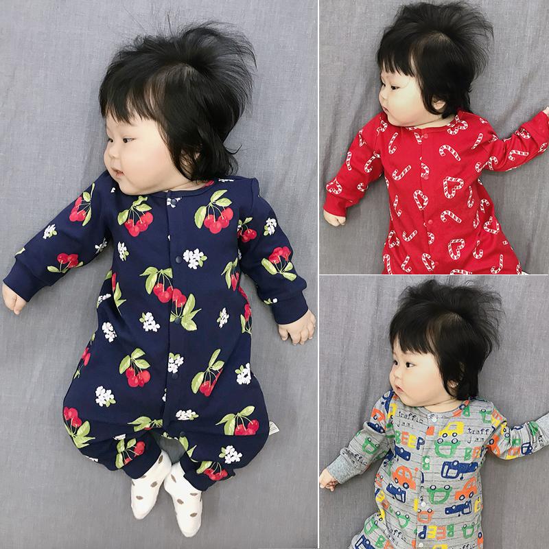 券后39.00元春秋纯棉长袖防踢被新生儿宝宝睡衣