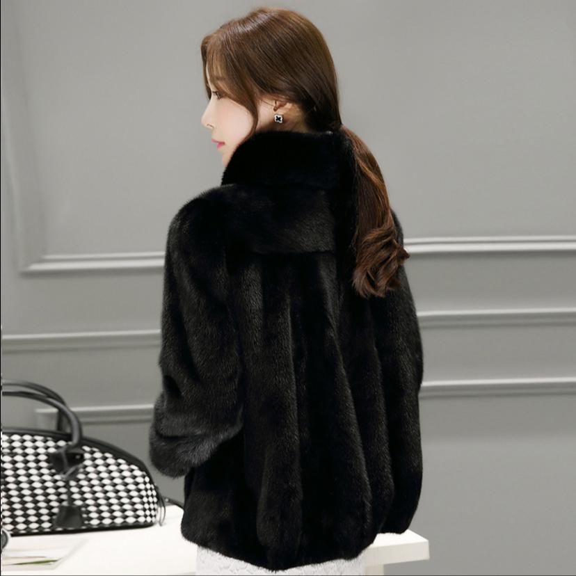 外套短款冬季新款海宁整貂貂皮大衣
