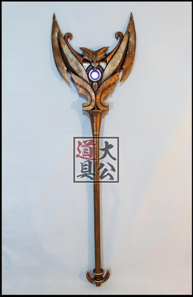 【大公道具】英雄联盟 LOL  璐璐 驯龙女巫 cos道具定制