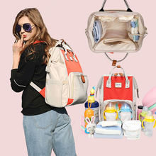 Dokoclub mummy bag multi function large capacity 2020 new fashion women's backpack Baoma out mother baby bag
