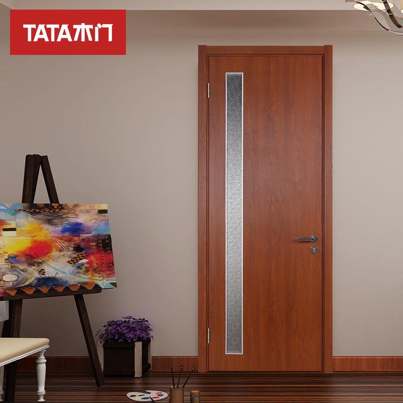 TATA деревянные двери комнатный гостиная установите ворота ванная комната ворота туалет ворота дерево комплекс краски деревянные двери @013