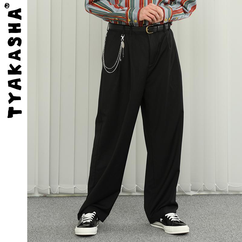 tyakasha塔卡沙男felix联名西装裤质量如何?