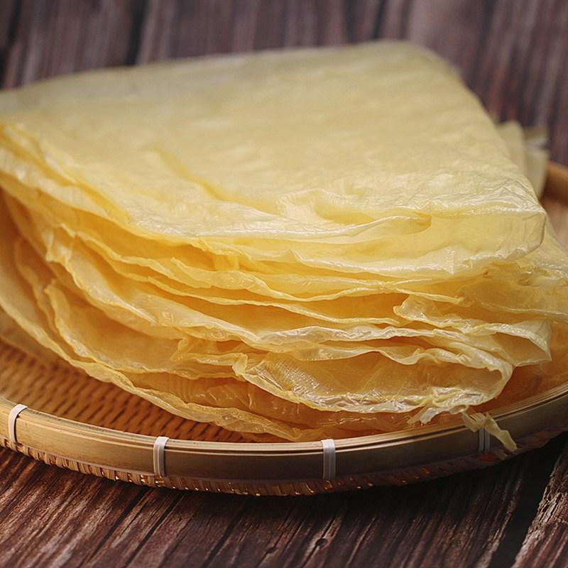 豆腐皮月子豆腐衣农家传统手工干货腐竹油豆皮250g五香卷