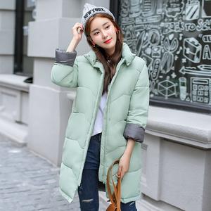 实拍8820冬季新款韩版学生宽松面包服中长款羽绒服韩国棉服外套女