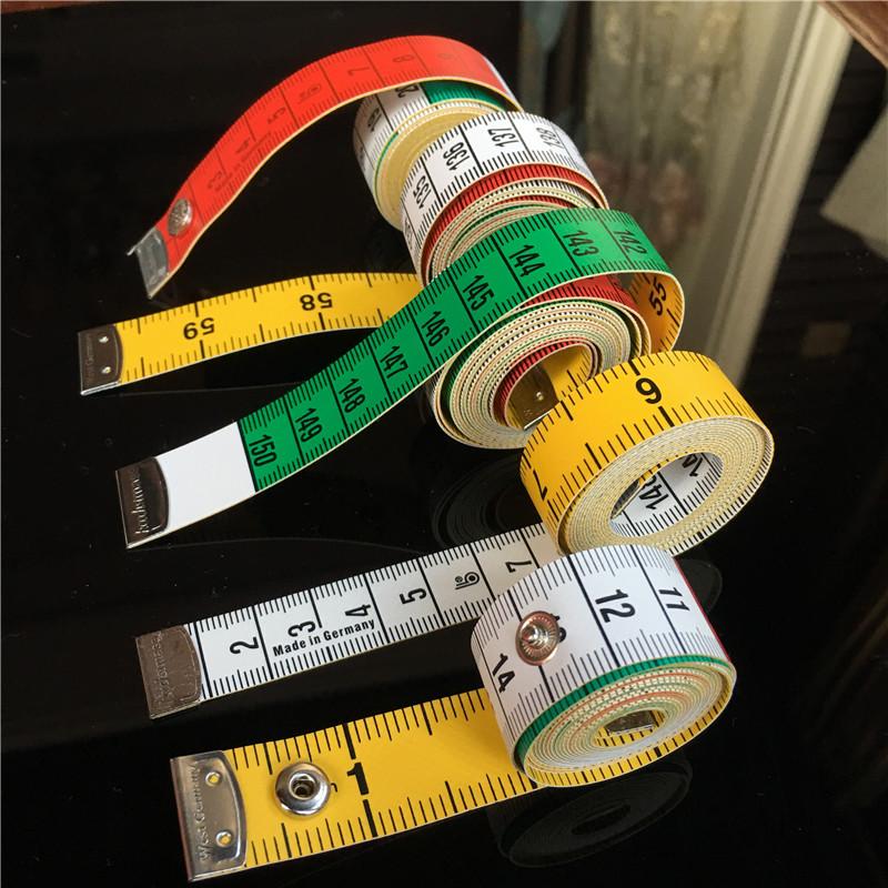 德国进口皮尺hoechstmass迷你卷尺量衣软尺三围1.5米服装伸缩卷尺