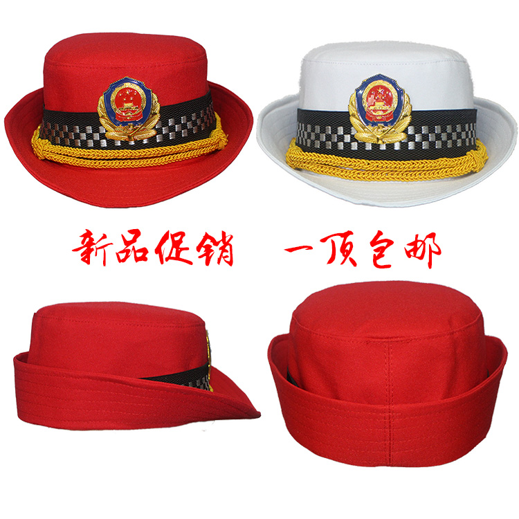 Womens military drum hat Bailey HAT COTTON HAT eaves hat stage performance supplies military band clothing accessories