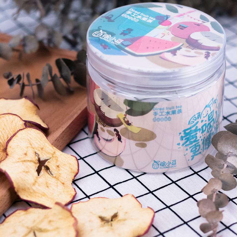 手工无添加苹果片40g水果茶 泡水喝的苹果干片无油不加糖宝宝零食