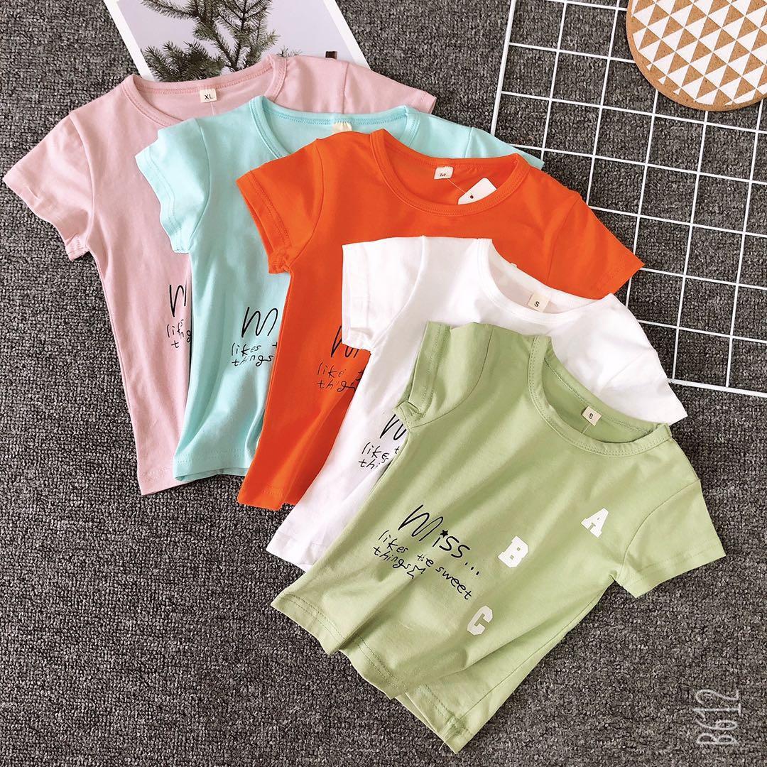 妃蝶轩 满48包邮 夏季短袖上衣男女宝宝小童1-4岁半袖韩版T恤D08