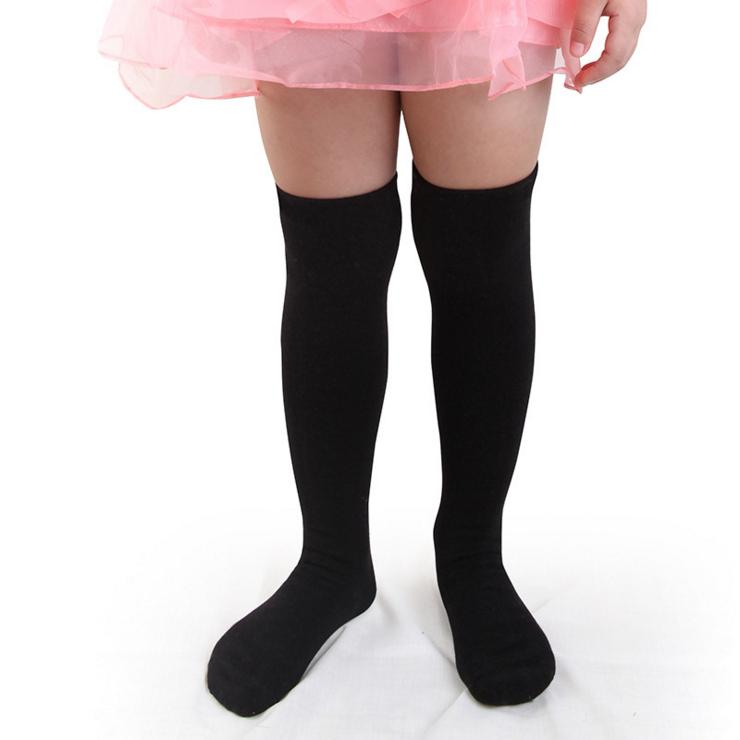 肚皮舞儿童过膝袜套东方舞蹈纯棉包脚袜子秋冬季护腿套练功习脚套