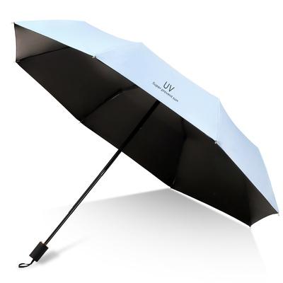 雨伞女学生男全自动折叠便携定制LOGO防晒紫外线遮太阳晴雨两用伞