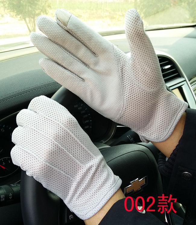 Весна модельа мужской перчатки на открытом воздухе движение скольжение водить машину цикл защита от ультрафиолетовых лучей лето солнцезащитный крем перчатки мужчина